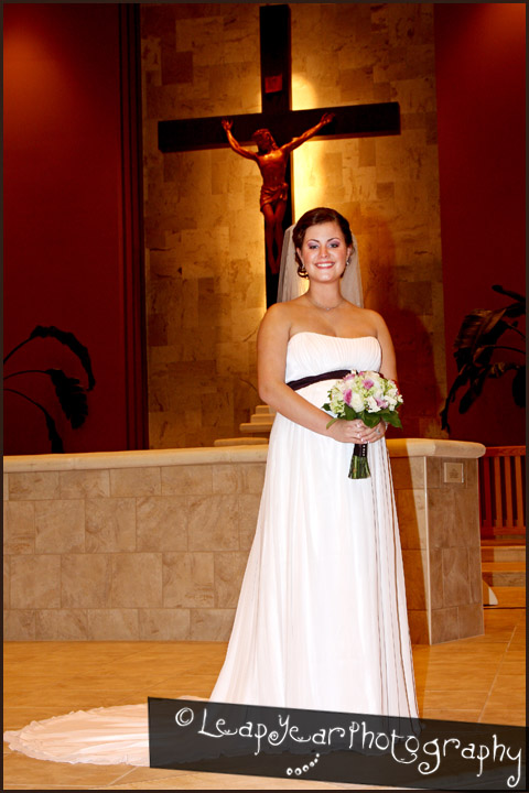 Bride at the Cross
